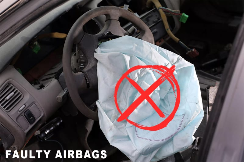19500 Faulty Airbags on Australian roads