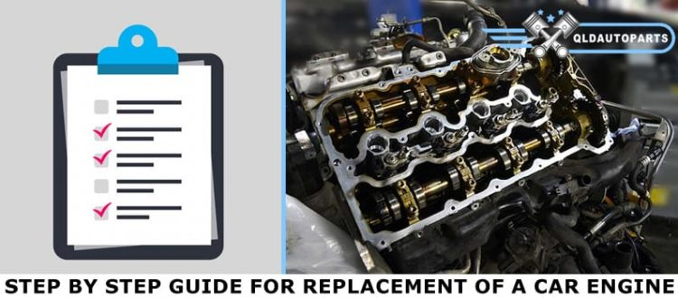Step by Step Guide for Replacement of a Car Engine