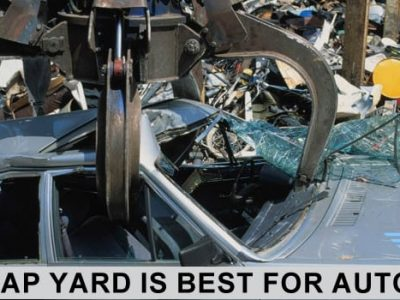 Why Scrap Yard is Best for Auto Parts?